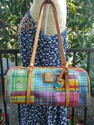 Dooney & Bourke Picnic Barrel Bag with Multiple Colors