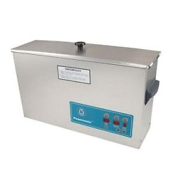 Crest Powersonic Ultrasonic Cleaner 2.5 Gallon Digital Timer Heat Pc And Basket