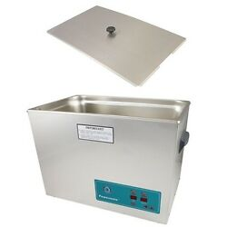 Crest Powersonic Ultrasonic Cleaner 5.25 Gallon Timer And Heat P1800h-45 And Basket
