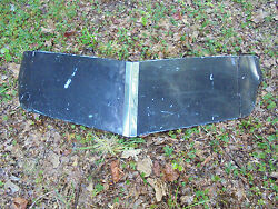 Vintage Exterior Metal Sun Shield Visor 46-48 Olds Ford Chevy Buick Dodge Desoto