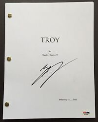 ERIC BANA SIGNED TROY MOVIE SCRIPT FULL 158 PAGES PSA DNA COA AUTOGRAPH