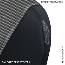 Coverking Carbon Fiber Neosupreme Front Tailored Seat Covers for Chevy Colorado $185.45