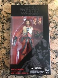 Star Wars Poe Dameron The Black Series 6 Inch Sealed The Force Awakens