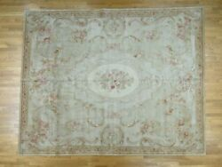 8and039x10and039 Charles X Design European Savonnerie Thick And Plush Rug G36909