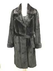 High End Practical Anti Chilly Plucked Usa Mink Lady Fur Half Coat Free Shipping