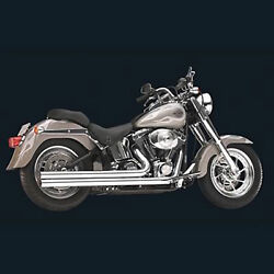 Hooker 27903-1HKR Exhaust Pipes Rebel Chrome for Harley 84-06 Softail Mid Length