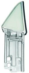 1967-68 Mustang Coupe Quarter Window Assembly W/ Clear Glass - Lh New Dii