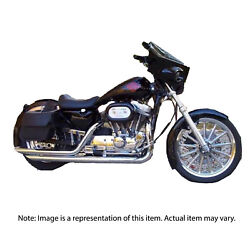 Hooker 27404-1HKR Exhaust Pipes Troublemaker Chrome for Harley 04-06 Sportster S