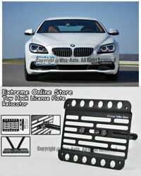 13-up For Bmw 6-series Gran Coupe Front Tow Hook Mount Bracket License Plate F06