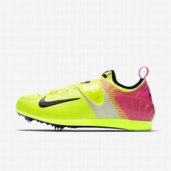 New Mens Nike Zoom Pv Ii Pole Vault Spikes Shoes Blue Size 12 Or 13 317404 120