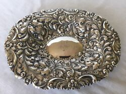 Amazing Antique Sterling Silver Bowl By Theodore B Starr