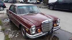 Classic Front Bumper Mercedes-benz Chasis W108 And W109   Usa Dealer