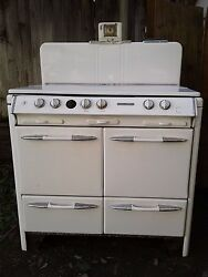 1950's O'keefe And Merritt Stove And Range, Antique Vintage