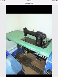 73 Yearold Singer Sewing Machine Ag 450061-around February 24th 1944- Antique