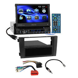 Planet Audio DVD Motorized Stereo Din Dash Kit Bose Harness for 00+ Audi A6 S6