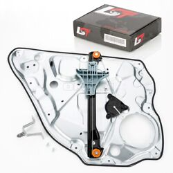 Complete Window Regulator With Panel Rear Right For Vw Polo 9n