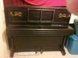 Antique Piano Family Heirloom Have Inclued Pictures With Name Of It