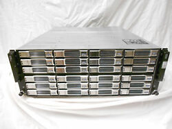 Dell Equallogic PS6110 ISCSI SAN Storage 24x 600GB 15K SAS 3.5