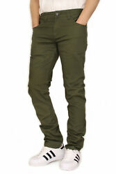 Menand039s Twill Stretch Skinny Jeans Victorious 17 Colors Waist 2842 Fast Ship
