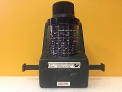 Flann Microwave 20110 Wr-42 17.6 To 26.87 Ghz, Rotary Attenuator For Parts