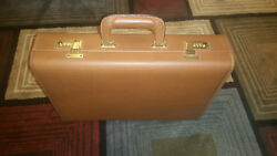 Vintage (Never Used) COACH Attache Case Leather Tan 5410 (BF099944) 17 years old