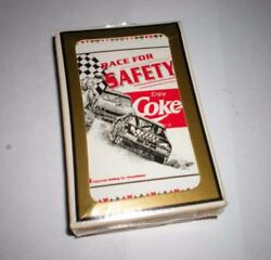 New Never Opened Coca Cola Race For Safety Enjoy Coke Deck Of Playing Cards