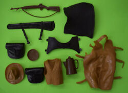 Vintage Best Of The West Various Accessories Chaps Pan Pot Rifle Hat Etc Used