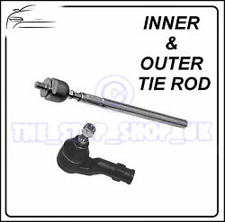 Vauxhall Corsa C Combo Corsa Van Inner And Outer Tie Rod End Steering Track Rod