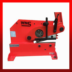 Wns Metal Lever Cropper Shear Guillotine 200mm 8 Steel Flat Round Square Angle