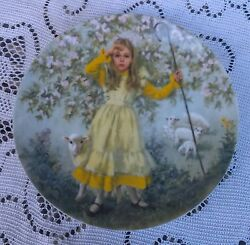 Reco Vintage Collectible Plate Little Bo Peep By John Mc Clelland 1983