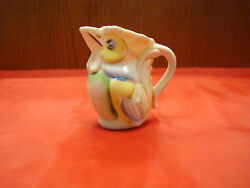 Vintage Mini Rooster Dairy Container / Occupied Japan Item