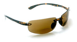 Polarized Bifocal Reading Sunglasses with Polycarbonate Lens for Men and Women $37.99