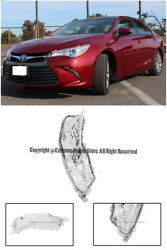 Front Bumper Clear Lens Fog Light Lamp RIGHT Side For 15-17 Toyota Camry