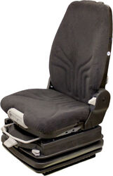 Grammer Grand Msg97al/722 Highback Fabric 24 Volt Seat For Construction Equip