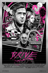 Drive By Tyler Stout - Portrait - Metal Variant - Rare Sold Out Mondo Print