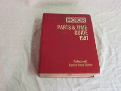 Used Motors Parts And Time Guide 1997 Professional Service Trade Edition