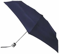 Totes Micro Umbrella Navy One Size