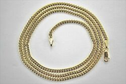 Authentic 10k Solid Yellow Gold Miami Cuban Link Chain 2.5mm/1830