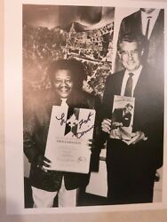 Fats Domino Signed Photo Autographed In Person Coa Album Lp 9 Hall Of Fame