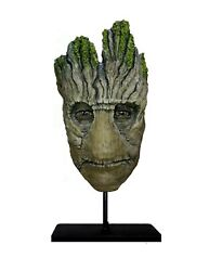 Groot Guardians Of The Galaxy Groot Life Size Head Statue. Prop. Cosplay.