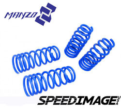 Manzo Lowering Springs Set For Mitsubishi Eclipse 2006-2012 Lowers F 1.5 R 1.5
