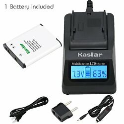 EN-EL19 Battery & Fast Charger for Nikon Coolpix S4400 S5200,Sony NP-BJ1 DSC-RX0