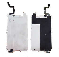 Iphone 6 4.7 Lcd Screen Heat Shield Metal Plate + Home Button Flex Cable