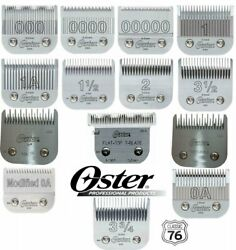 Oster Detachable Replacement Clippers Blades For Classic 76 Model 10 Octane