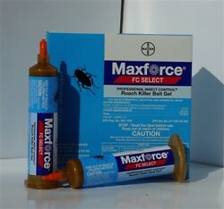 Maxforce Select Roach Killer Bait Gel Tubes Kill Cockroach W/plunger And Tip