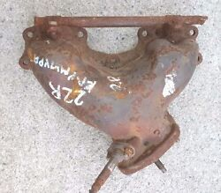 Toyota 22r Removed From Carburated Engine Exhaust Manifold