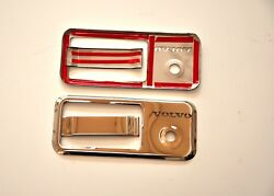 Volvo Truck Door Handle Covers Super Polished Stainless Steel 4 Pcs