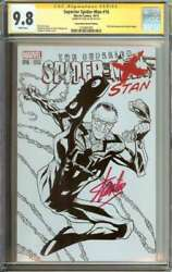 Superior Spider-man 16 Cgc 9.8 White Pages Sketch Edition