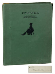 Cinderella By C.s. Evans Signed By Arthur Rackham Limited First Edition 1919