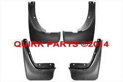 1998-2000 Nissan Frontier Front And Rear Splash Guards Set Genuine Oem 2wd Only